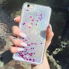 glitter liquid iphone 6 case - Google Search