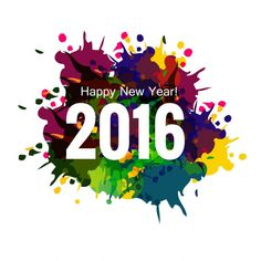 Free download: http://www.freepik.com/free-vector/colorful-new-year-2016-greeting-card_822603.htm