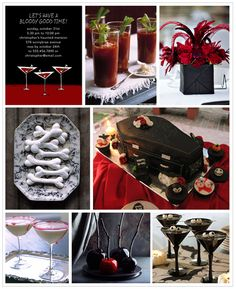 halloween wedding decor | black and red « Wedding Style, Planning & Inspiration | the Wedding ...