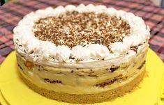 Nepečena torta sa turskim keksom i narandžom — Domaći Recepti Dessert Cake Recipes, Easy Cake Recipes, Cheesecake Recipes, Sweet Recipes, Baking Recipes, Bread Recipes, Torte Recepti, Kolaci I Torte, Torta Recipe