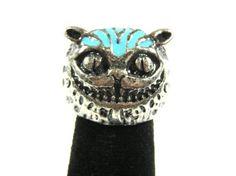 Amazon.com: Cheshire Cat Cocktail Ring Size 4.5 Alice in Wonderland Statement Fashion Jewelry: Jewelry