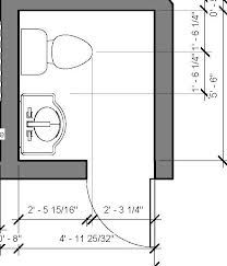 Small Powder Room Floor Plan
