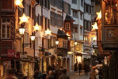 Christmas decoration of Augustinergasse in old town of Zurich, Switzerland by Antonio Violi Photography. Ursa Major, Study Abroad, Continents, Old Town, Switzerland, Christmas Time, Christmas Decorations, City, Photography