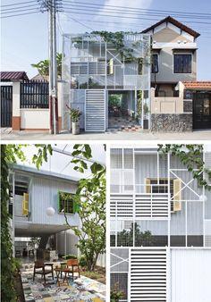 The Nest Una obra arquitectónica realizada por el despacho de a21Studio la cual se encuentra ubicada en Vietnam, con la cual cuenta acero en la mayoría de la construcción.