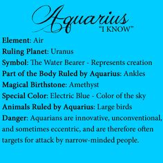 Discover and share Aquarius Horoscope Quotes. Explore our collection of motivational and famous quotes by authors you know and love. Astrology Aquarius, Aquarius Traits, Aquarius Quotes, Aquarius Woman, Age Of Aquarius, Capricorn, Zodiac Star Signs, My Zodiac Sign, Aquarius Personality
