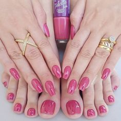 Ideas For Pretty Pedicure Colors Manicures Pedicure Colors, Manicure E Pedicure, Nail Colors, Mani Pedi, Pretty Toe Nails, Gorgeous Nails, Cute Pedicures, Feet Nails, Toe Nail Designs