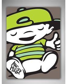 Mac Miller Fleece Blanket.  I WANT!!!!