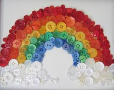 Button rainbow at Busted Button