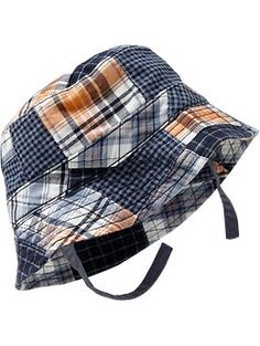 Patchwork Sun Hats for Baby - This is so adorable I can't stand it!