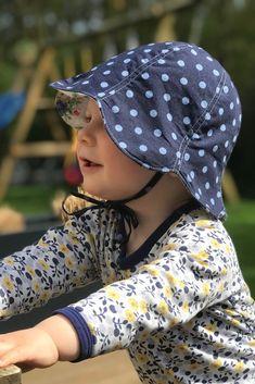 Sonnenhut für Kinder nähen, Sunny - Pattydoo, Schnittmuster Freebook