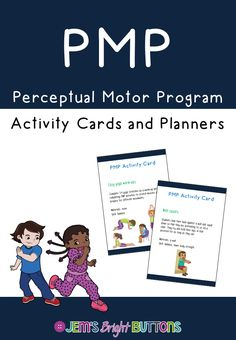 42 activity cards (and planning documents) to support gross motor development! Perceptual Motor Program PMP