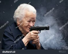 Alright who gave grandma a gun. Best Memes, Dankest Memes, Funny Memes, Lady Memes, Hilarious, Meme Pictures, Reaction Pictures, Meme Pics, Funny Pics