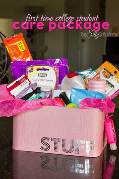 Send Your Recent High School Grad Off To College With A Care Package Featuring SchickR GiftsCollege Student