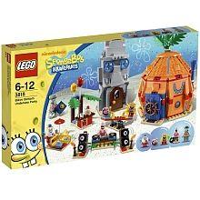 LEGO Bob Esponja - Fiesta Submarina en Fondo de Bikini - 3818