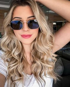 Niina (@niinasecrets) • #blonde #look #ootd #makeup #hair Nina Secrets, Facial Pictures, Insta Photo Ideas, Womens Glasses, Long Bob, How To Make Hair, Wedding Makeup, Girl Hairstyles, My Hair