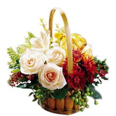 Thanksgiving Flowers and Gifts. Send flowers and gifts from our Thanksgiving Flowers and Gifts section using local florists and bakeries and with our low service fee. Send Flowers, Fall Flowers, Special Flowers, Thanksgiving Flowers, Bountiful Garden, Garden Basket, Same Day Flower Delivery, Spring Design, Carnations