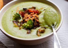 Cheezy Loaded Potato Broccoli Soup: Healthy Makeover Recipe
