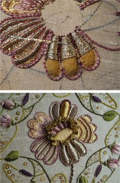 A phenomenal example of embroidery in the Netherlands, with time lapse video of process. Breathtaking work. via PuurGoud