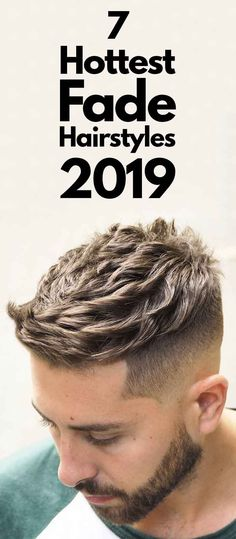 18 Hottest Fade Hairstyles For Men in - Men's Hairstyl.- 18 Hottest Fade Hairstyles For Men in – Men's Hairstyle 2020 - Short Mens Hairstyles Fade, Popular Mens Hairstyles, Trending Hairstyles, Haircuts For Men, Men's Hairstyles, Men's Haircuts, Short Hairstyle, Hairstyle Ideas, Braided Hairstyles