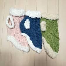 「犬セーター編み図」の画像検索結果