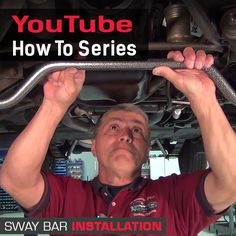 Check out our Sway Bar installation video. https://www.youtube.com/watch?v=t08zRKiMfb0 for more great videos and tips be sure to subscribe to our channel. #mustangsplus   #howTo