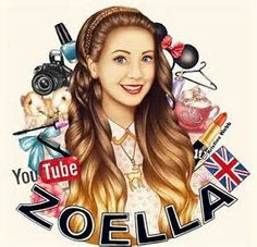 Amaze drawing of zoe aka zoella shows her personality around her.The drawing is Pure talent and very creative