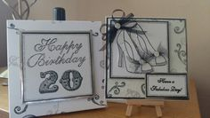 Birthday card made using Stamps by Chloe products