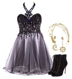 """Winter Formal"" by sixela14 ❤ liked on Polyvore featuring Louis Mariette and Diego Percossi Papi"