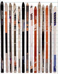 kneissl ski range 1980-81 - Google-søk