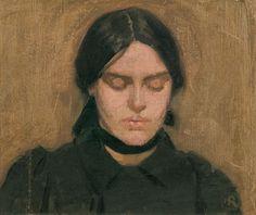 oil on canvas created by Hugh Ramsay