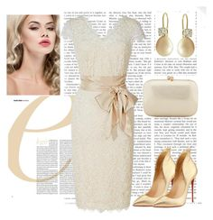 Chic!! by ebramos on Polyvore featuring polyvore, fashion, style, Christian Louboutin, Serpui and clothing
