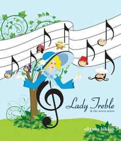 Lady Treble and the Seven Notes by Eliyana Biklou Hardcover) for sale online Music And Movement, Piano Teaching, Art Music, Music Books, Music Classroom, Classroom Ideas, Elementary Music, Music Theory, Children's Literature