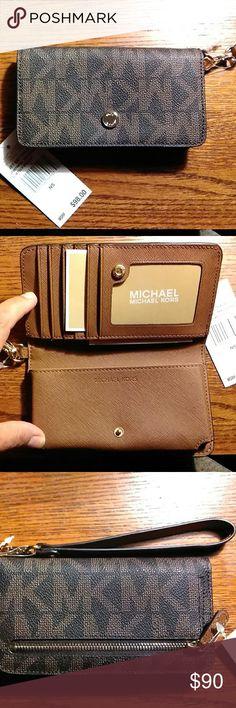 Michael Kors Jet Set Travel~cellphone wallet NWT... Brand New! Michael Kors Bags Wallets