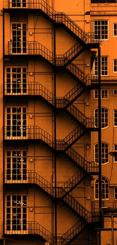 https://flic.kr/p/dh21Hj | Adelphi Hotel Liverpool. Metal staircase. Explored #191 / 6-10-12 | OLYMPUS DIGITAL CAMERA