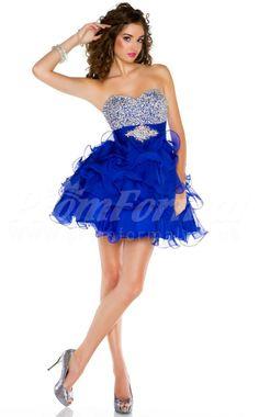 blue short prom dresses,short prom dresses