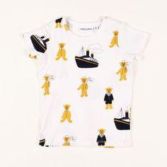 T-Shirt Teddy by mini rodini, availabe at nordliebe.com