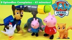 PATRULHA CANINA e PEPPA PIG 9 EPISÓDIOS COMPLETOS em Portugues Carros BRINQUEDOS Desenho Paw Patrol - YouTube