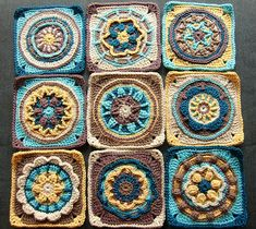 Ravelry: Circles of the Sun - Mystery CAL 2015 pattern by Tatsiana Kupryianchyk