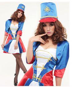新しい女性のセクシーな衣装2014年hallowmasコスチュームコスプレステージの摩耗クラブウエア名誉ガードゲームのユニフォーム
