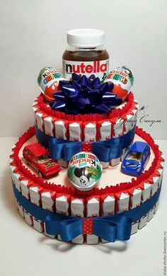 Buy Cake from Kinder gift for a child .- Buy Cake from K Buy Cake from Kinder gift for a child …- Купить ТОРТ ИЗ КИНДЕ… Buy Cake from Kinder gift for a child …- Buy Cake from Kinder a gift for a child … Buy Cake from Kinder … – # sweetcandy - Candy Birthday Cakes, Candy Cakes, Diy Birthday Gifts For Friends, Gifts For Kids, Christmas Gift Baskets, Diy Christmas Gifts, Christmas Trees, Buy Cake, Cupcake In A Cup