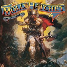molly hatchet flirting with disaster I LOVE this cover