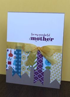 Good use of scraps and could be for any occasion - Julie B's Stampin' Space