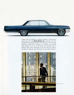 Buick Electra 225 Sedan 1963 Businessman - Mad Men Art: The 1891-1970 Vintage Advertisement Art Collection