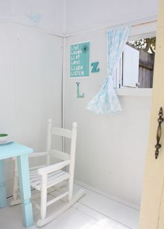 The most gorgeous cubby house via the Happy Home blog. #cubby #house