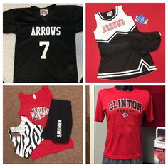 This #FootballSeason, deck your whole family out in the best #ClintonArrow apparel and accessories!