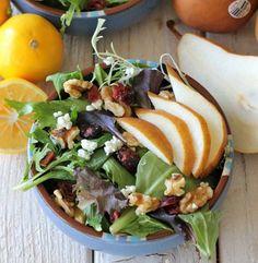 walnuts & pear salad