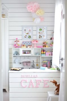 How to Create the Perfect Playroom Design For Your Kids Playroom Ideas Create Design Kids Perfect Playroom Cubby Houses, Play Houses, Playhouse Interior, Ikea Toys, Kids Cafe, Wendy House, Playroom Design, Playroom Ideas, Kid Playroom