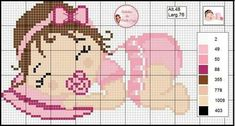 Hama Beads Patterns, Beading Patterns, Cross Stitching, Cross Stitch Embroidery, Bavarian Crochet, Baby Cross Stitch Patterns, Cross Stitch Heart, Crochet Baby Clothes, Pearler Beads