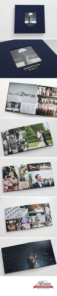Albums Remembered offers professional custom wedding albums to public at an affordable price. With each album purchasing, it includes free album design with unlimited revisions. Wedding Album Layout, Wedding Album Design, Wedding Photo Albums, Wedding Designs, Wedding Ideas, Wedding Photo Books, Wedding Photos, Wedding Stuff, Album Book