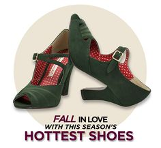 Our newest fall styles have hit Trashy Diva's stores and website and we're FALLING in love with them! Read more on Patricia's blog on Fall Shoes!